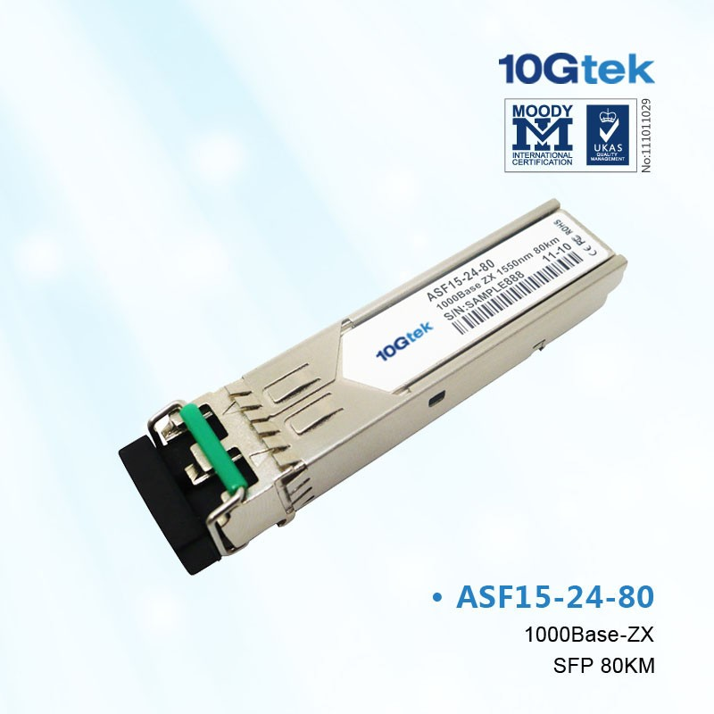 For H3C, JD063A, 1000BASE-LH70 SFP Transceiver, SMF 1550nm, 70km, LC