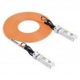 Orange Color, SFP+ DAC Twinax Cable, 0.5~3 meters , Passive, 30AWG