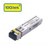 1.25Gb/s BiDi SFP Tx1550/Rx1490nm, 120KM