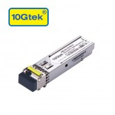 1.25Gb/s BiDi SFP Tx1550/Rx1490nm, 80KM, with DDM