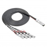 Active QSFP+ to 4 SFP+ Breakout Cable, 3~10 meters