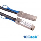 For Dell 470-ABQE, Dell Networking Cable 100GbE QSFP28 to QSFP28 Passive Copper Direct Attach Cable-3m