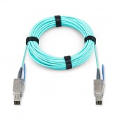 Mini SAS HD SFF-8644 to Mini SAS HD SFF-8644 AOC Fiber Optic Cable , 5-20 meter
